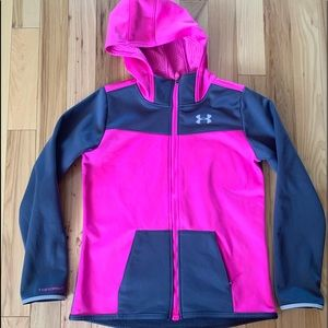 UA Storm 2 Cold Gear MagZip Hooded Jacket